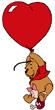 plysoggrislingflyvendeunderhjerteballon