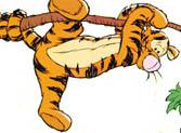tigerhaengendepaagren