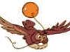 ugleflyvendemedballon